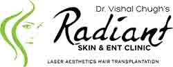 Dr.Vishal Chugh , Radiant Skin & ENT Clinic. The best dermatologist clinic in jaipur