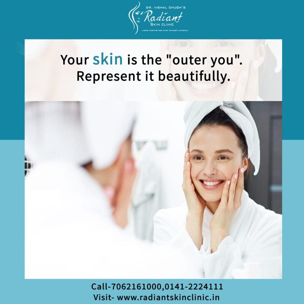 skin whitening treatment in jaipur