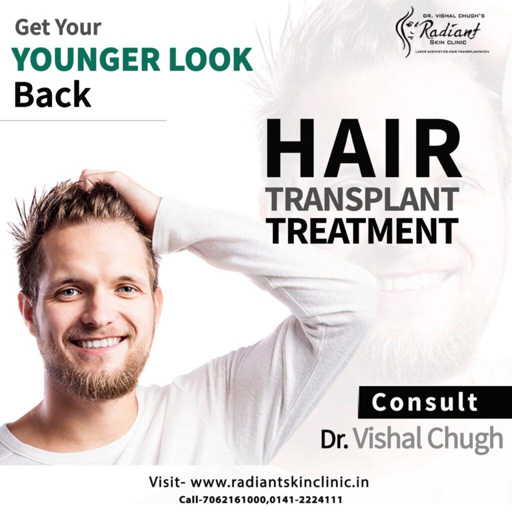 top hair transplant in jaipur